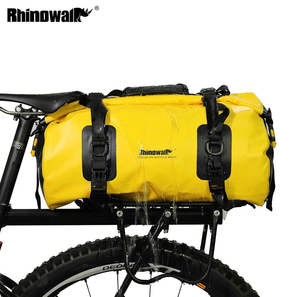 Rhinowalk Bicycle Front Bag Waterproof Cycling Travel Singleshoulder Pannier Bag