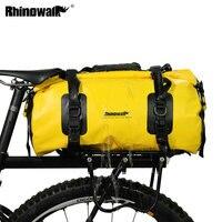 Rhinowalk bicicleta sela saco de viagem à prova dfull água cheia bolsa ocasional ciclismo bicicleta bagagem transportadora saco ombro crossbody saco 20l Cestos e bolsas p/ bicicleta     -