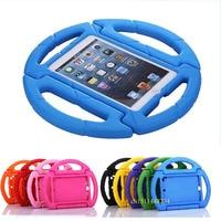 Voor iPad mini 4 Tablet Cover, Fashion cartoon case, kinderen Bescherming Case Voor ipad mini 2 mini 3 EVA siliconen cover + Stylus