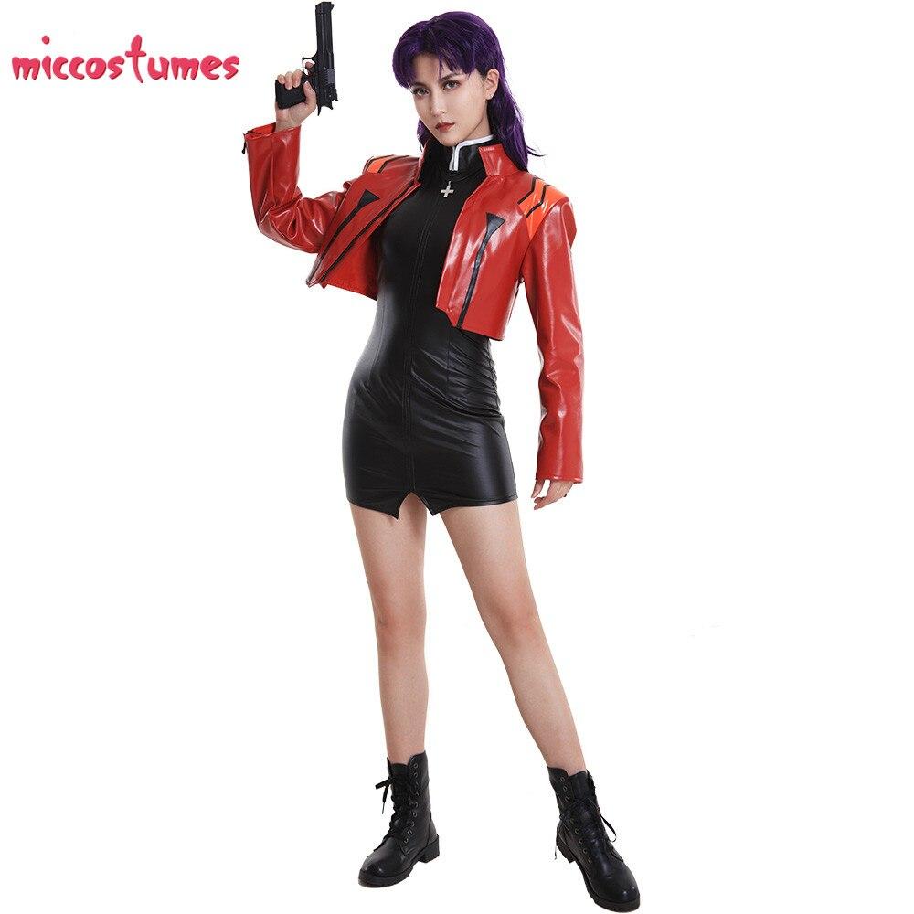 Image 2 - Captain Katsuragi Misato Zerochan Cosplay Costume Jacket Cosplay Woman Halloween Outfit