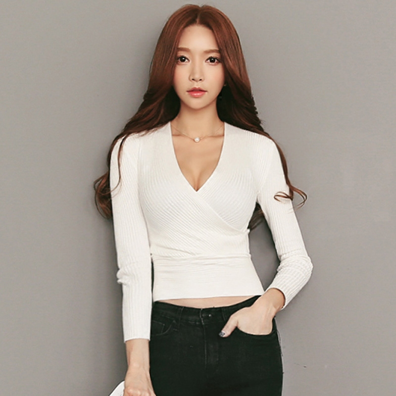 Long Sleeve V Neck Tops. invalid category id. Long Sleeve V Neck Tops. Product - Next Level Women's Rib Knit Short Sleeve Deep V-Neck T-Shirt, Style NL Product Image. Price $ 7. Product - Straight Outta New Haven Black Womens Long Sleeve T-Shirt. Product Image. Price $