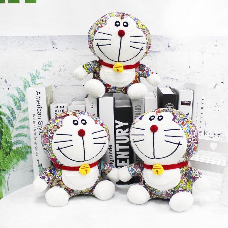25cm Stand By Me Doraemon Plush Toy Cartoon Animals Doraemon Cat Stuffed Toy Doll Kids Toy For Birthday Gift