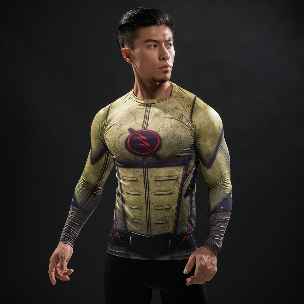 Punisher 3D Printed T-shirts Men Compression Shirts Long Sleeve Cosplay Costume crossfit fitness Clothing Tops Male Black Friday 60