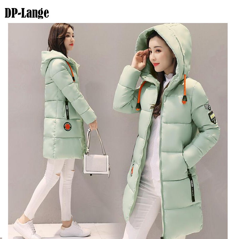 2017 Winter Jacket Women Hooded Thicken Coat Female Fashion Warm Cotton-Padded Long Wadded Jacket Coat Parka Outwear Parkas lstu winter jacket women 2017 fashion cotton padded hooded jacket female wadded jacket outerwear winter coat women