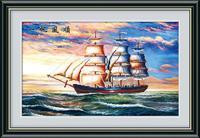 ¡ Nuevo! velero Cruz Stitch artesanía artesanal inacabado Diamantes con piedras falsas mosaico bordado DIY 5d diamante pintura decoración del hogar