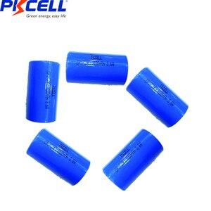 Image 1 - 5個ER17335 ER17335S er 17335 ER2/3A 3.6v Li SOCl2リチウム電池2/3A電池17*33.5ミリメートル優れCR17335 batterie