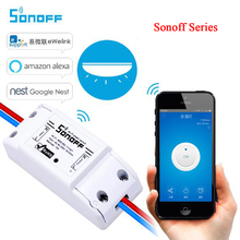 Sonoff Basic Wifi Switch Smart Home Diy Itead Sonoff RF S20 Timer Siwtch Wireless Th10 Th16 Temperature Sensor Power Consumption
