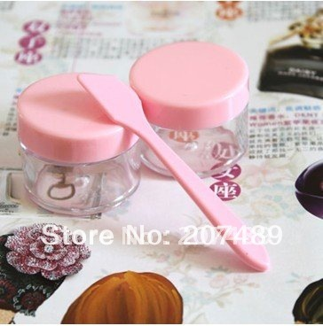 Wholesale retail 2 in 1 DIY mask beauty set(2 bottles and 1 stick)Homemade Mask Outfit face cream separate bottle 15g
