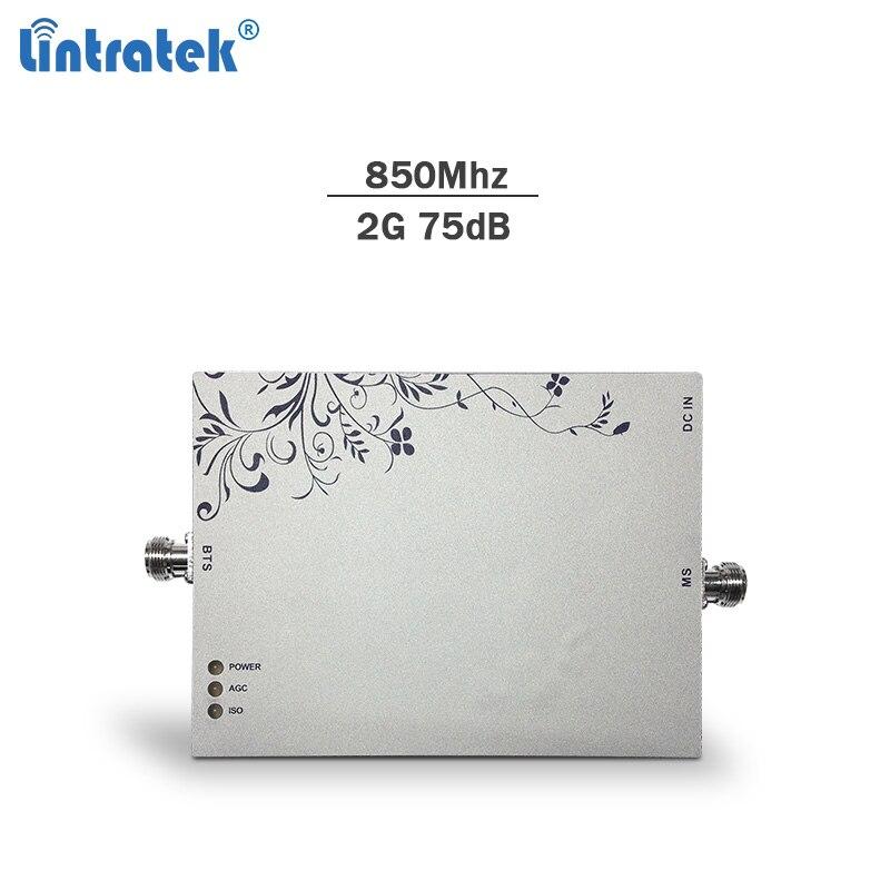 Lintratek signal booster 850 mhz 75dBi AGC & MGC handy gsm repeater 3g 4g lte netzwerk booster mobile signal verstärker nur #8,1