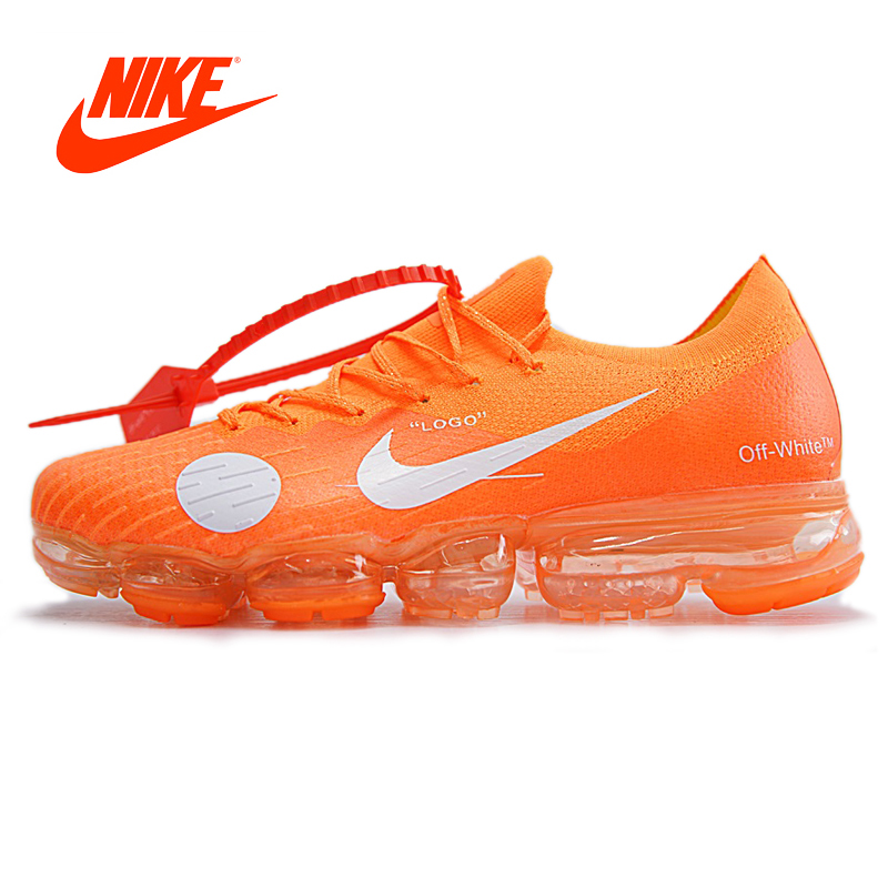 Original Authentic Nike Off White Max Mens Running Shoes men Sneakers Sport Outdoor Comfortable Breathable male Athletic Low Top