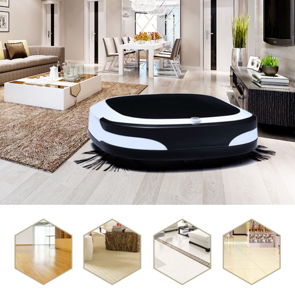 New Style Robot Cleaner Robotic Vacuum Cleaner Cordless for Home Appliances Rechargeable Smart Automatic Sweeping Robot
