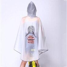 Plastic Korean Raincoat Waterproof Poncho Outdoor Cover Rain Coat Women Rainwear Impermeables Rainproof Feminino 50KO144