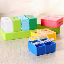 Hot Sale 7 Days Weekly Tablet Pill Medicine Box Holder Storage Organizer Container Case Pill Box