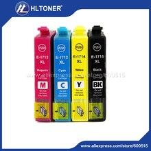 4pcs  T1711 Compatible ink cartridge for epson XP-33 XP-103 XP-203 XP-207 XP-303 XP-306 XP-403 XP-406 313 323 413 423
