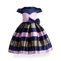 2018 الأطفال ملابس فتاة ثوب جديد المشارب كبير القوس توتو الأميرة اللباس الفتيات الطفل فساتين فتاة حزب رسمي