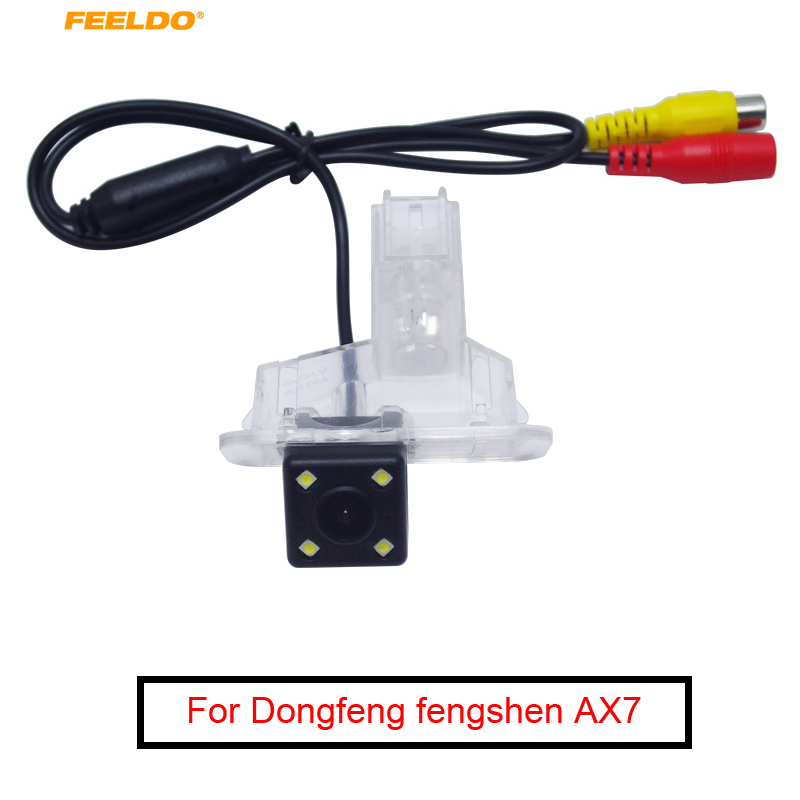 FEELDO Waterproof Car CCD Backup Rear View Camera For Dongfeng Fengshen AX7/A30 Reversing Park Camera #MX5515