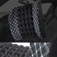 Car Seat Supports With DC 12V Car Charger Massage Shaking Cushion Lumbar Back Brace Pillow Lumbar