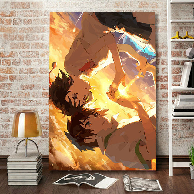 Oil Painting Your Name Digital Japan Style Poster Paint By Numbers