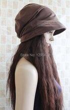 Women Korean style stylish casual beret beanie oversize short brim  winnter cap/hat