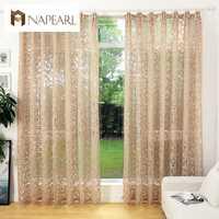 Домашний текстиль из жаккарда NAPEARL в европейском стиле, шторы на окна для комнаты