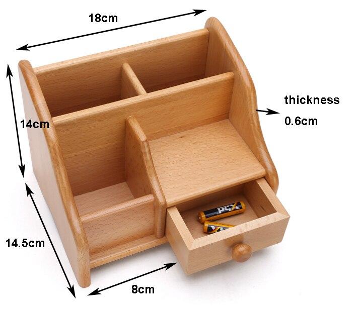 Makeup Drawer Organizer Desktop Storage Box Remote Control Storage Box Toys  Jewelry Organizer Wooden Box With Drawer In Storage Boxes U0026 Bins From Home  ...