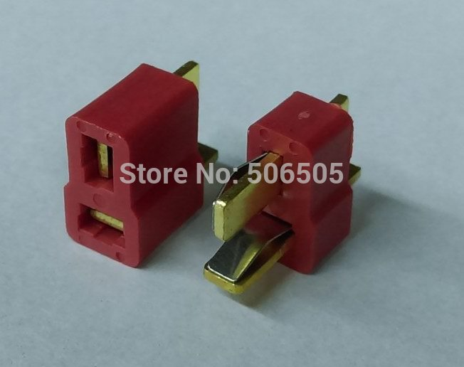 Free shipping T  type socket and T-type plug Connectors  battery plug Female+male 10pcs/lot [vk] 553602 1 50 pin champ latch plug screw connectors