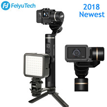 Feiyutech G6 Gimbal Splash Proof Bluetooth Wifi Connection OLED Screen Handheld Stabilizer for GoPro HERO 5 4 RX0 Yi 4k AEE(China)