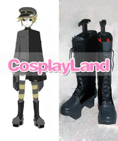 Customize Boots Vocaloid Thousand Cherry Tree Kagamine Len Cosplay Shoes Cosplay Costume Halloween Party Cosplay Shoes