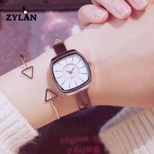 ZYLAN Wtistwatches Ultra Fino Slim Senhoras Das Mulheres Casuais Quartzo Requintado Do Vintage Relógios Relógio Feminino Horas