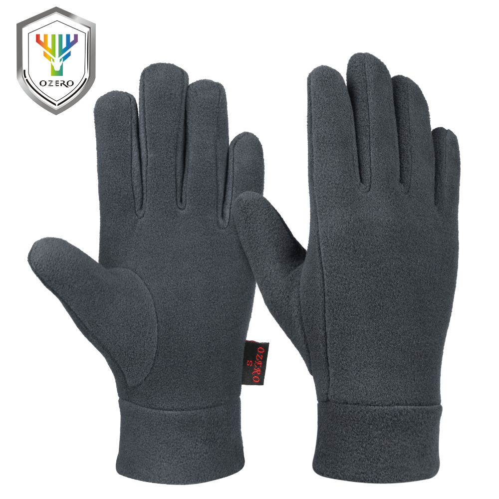OZERO Warm Gloves Winter Glove Windproof Liners Thermal