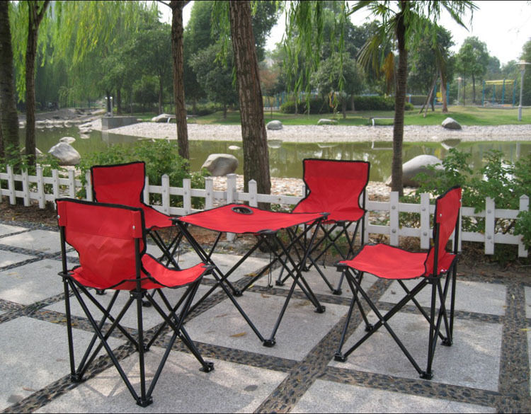 AOTU 5 in 1 portable backpack outdoor folding tables and chairs Tables and chairs suit The picnic fishing chair 527