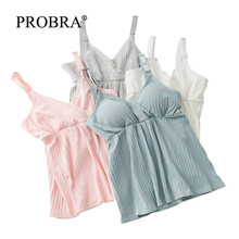 Женское платье-пачка без рукавов из шифона и хлопка, тонкие летние бюстгальтеры для кормления, нижнее Белье для сна, милые женские платья для беременных, одежда, топ, нижнее белье