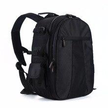 НОВЫЙ Черный Камеры Сумка SLR DSLR Водонепроницаемый многофункциональный Плеча Рюкзак Для Камеры Видео Ноутбуки Таблетки Сумка коробка