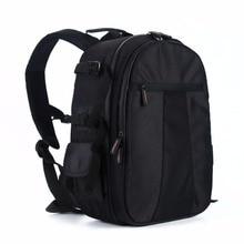 NEW Black Camera Bag SLR DSLR Waterproof Multi-functional Shoulder Backpack For  Camera Lens Video Laptops Tablets Bag Case Box