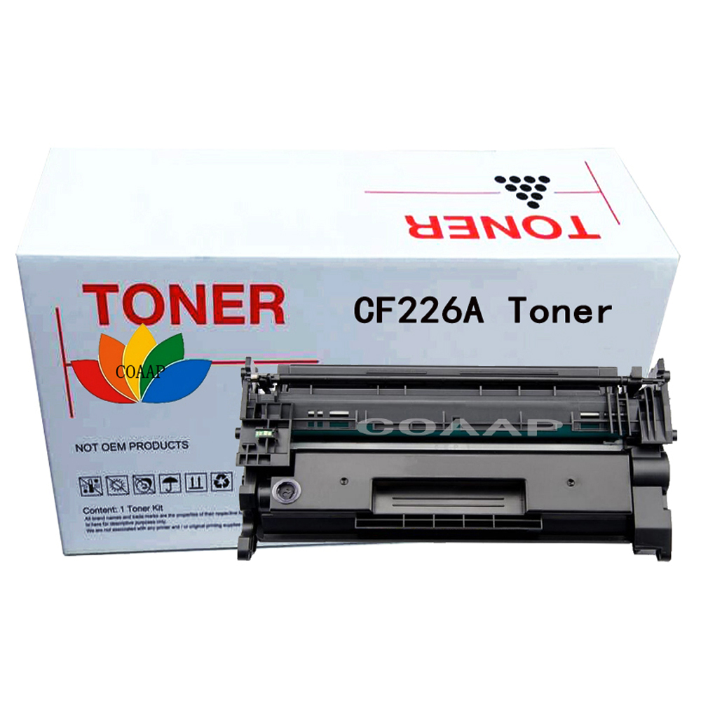 1x Compatible hp 26A CF226A 226A black Toner Cartridge for HP LaserJet Pro M402n / M402d / M402dn / M402dw, MFPM426dw / M426fdn use for hp 4730 toner cartridge toner cartridge for hp color laserjet 4730 printer use for hp toner q6460a q6461a q6462a q6463a