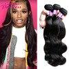 7A Grade Brazilian Virgin Hair Body Wave 3 Bundles Princess Hair Brazilian Body Wave Unprocessed Brazilian Hair Weave Bundles
