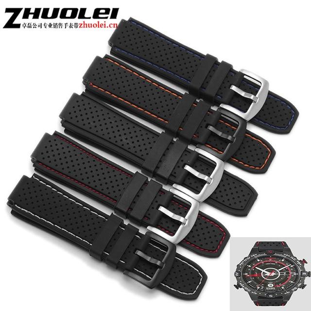 24*16mm lug end For men's Timex T49859|T2N720|T2p141|T2n722|723|738|739 waterpro