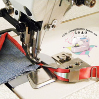sewing machine is the leading pull cylinder hemming sewing aid ribbon leather 28MM car synchronous car accessories