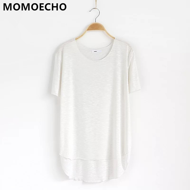 MOMOECHO 2018 Women Cotton Summer Causal Short Sleeve White Femme O Neck Camiseta Feminina Friends C 1761