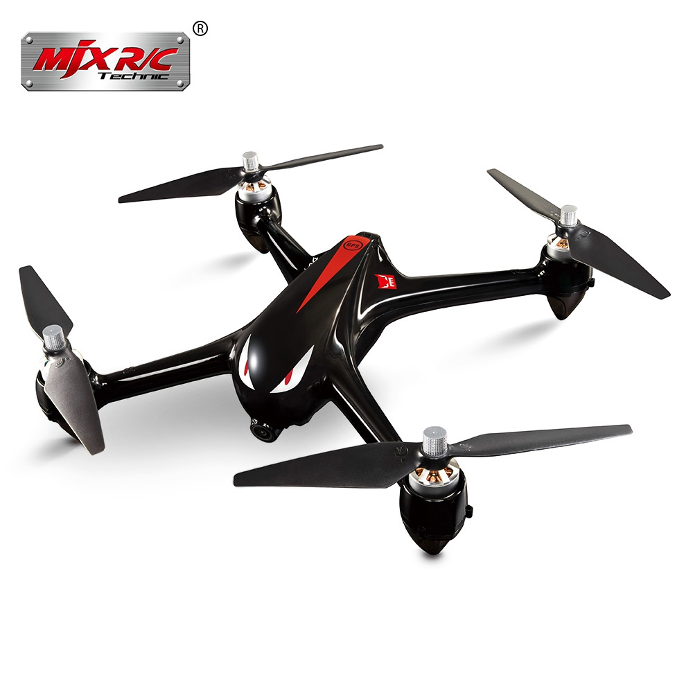 Original MJX Bugs 2 B2W Brushless RC Drone RTF 5GHz WiFi FPV 1080P Full HD / GPS Positioning / 2.4GHz 4CH Dual-way Transmitter радиоуправляемый квадрокоптер mjx x102h с hd fpv камерой и барометром rtf 2 4g