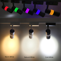 LED Track Light 15W Modern COB Spot Rail Lights Clothes Shoes Store Shop Windows Decoration Spotlights Focus Lighting Fixtures