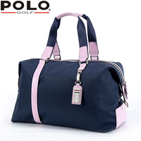 Polo Golf Bag Clothing Bag Lady Hold All Single Shoulder Bag Travel Clothing Bags Handbag Bag