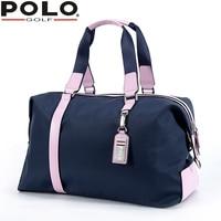 Polo Golf Bag Clothing Bag Lady Hold All Single Shoulder Bag Travel Clothing Bags Handbag Bag