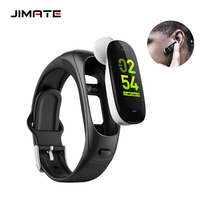 Bluetooth Earphone Smart Band Blood Pressure Heart Rate Monitor Fitness Tracker Answer Call Smart Wristband Wearable Devices