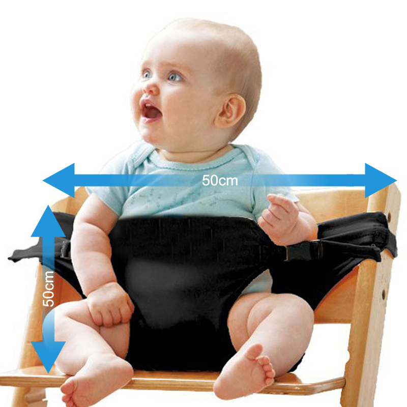 Portable Infant Chair Seat Dining Lunch Seat Safety Belt Stretch Wrap Feeding Chair Harness baby Booster Seat baby feeding Gift (6)