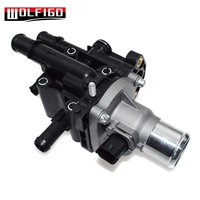WOLFIGO COMPLETE THERMOSTAT HOUSING W/ THERMOSTAT FOR CHEVY CRUZE 1.8 2011 2016 25192228,55579951 NEW