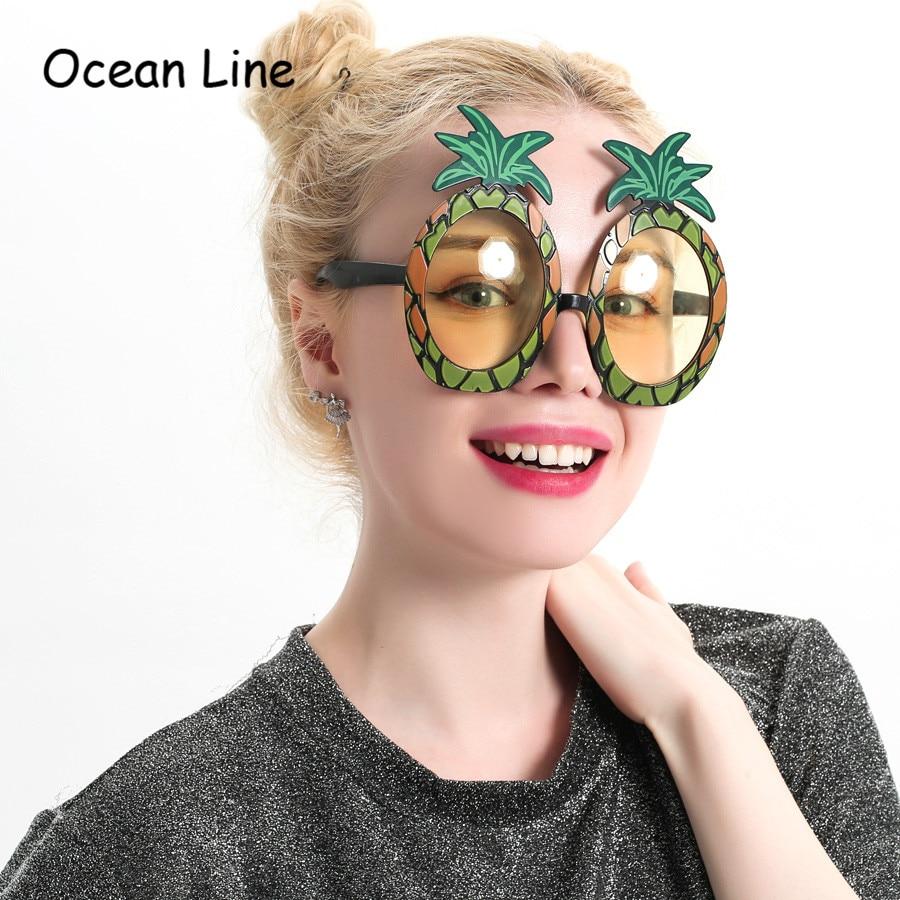 Fructe decorative Ananas Costum Tropical Props Ochelari de plajă - Produse pentru sărbători și petreceri