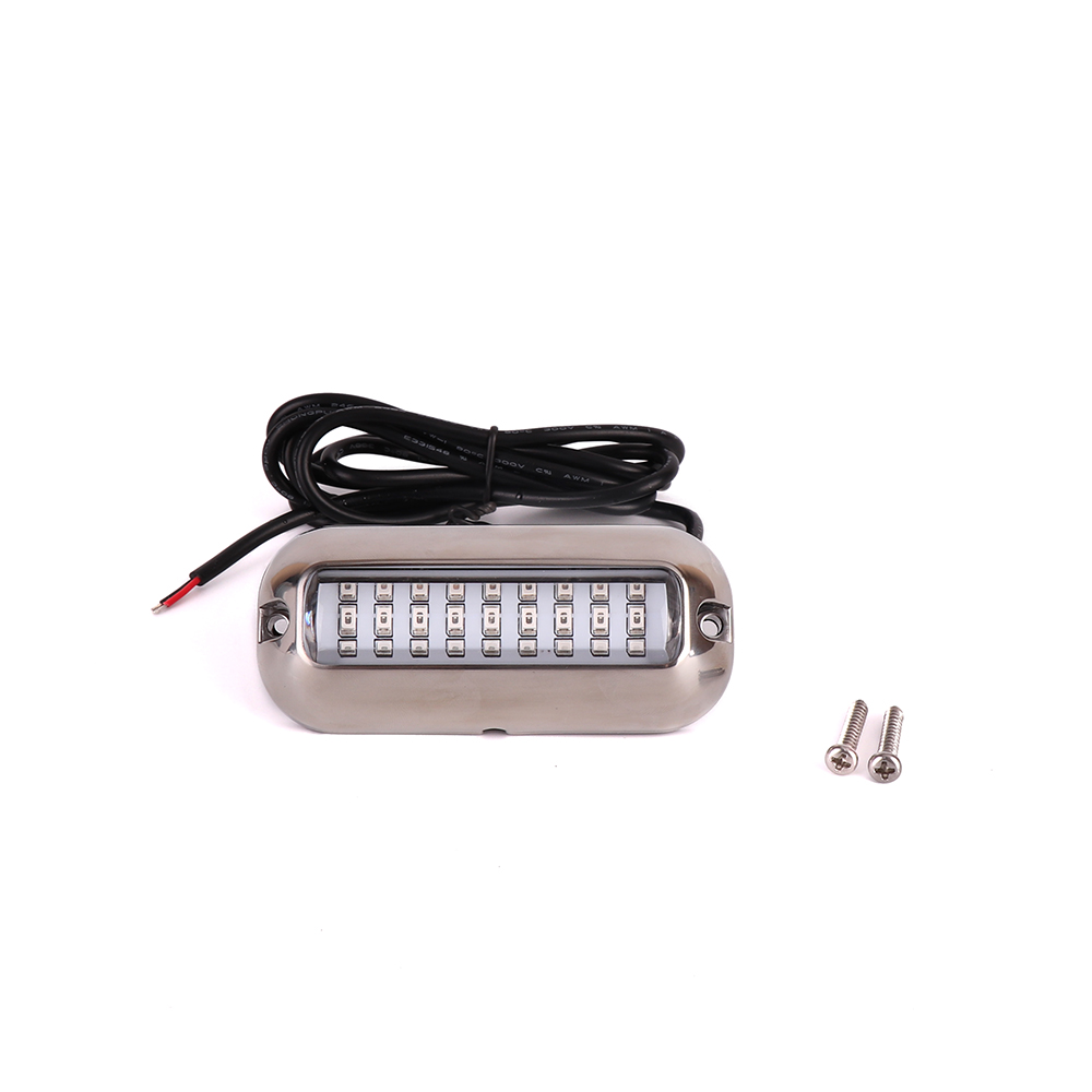 Marine Hardware 50w 27led Red/blue/green Boat Light Underwater Pontoon Marine Transom Light Ip68 Waterproof Stainless Steel Anchor Stern Lamp Products Are Sold Without Limitations Boat Parts & Accessories