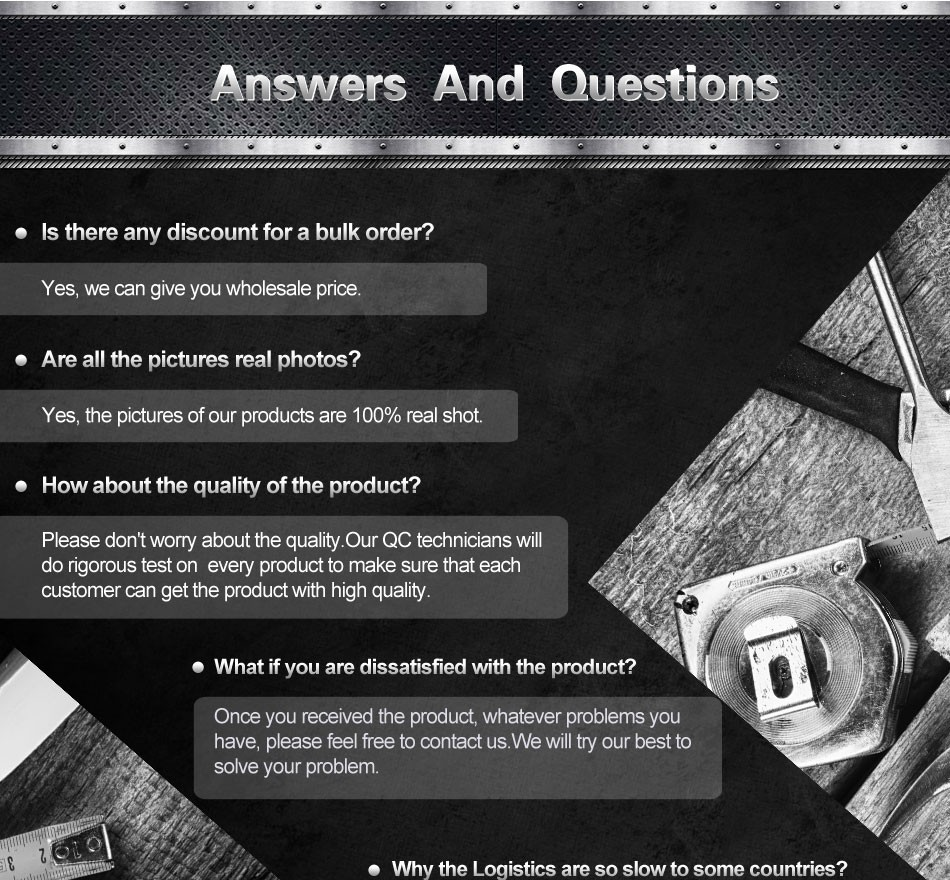 Answer and Questions