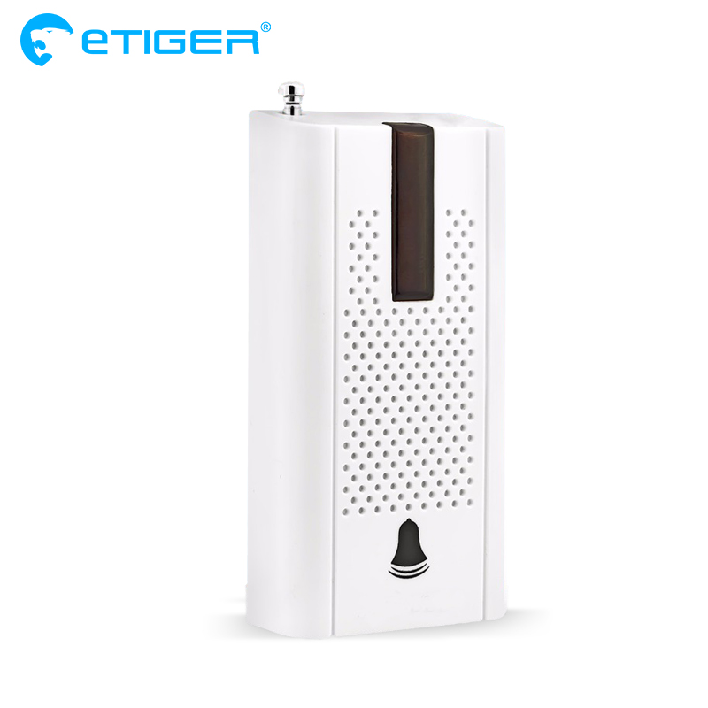 Etiger Wireless Door Window Vibration Detector Shock Sensor For Home Alarm System with Antenna wireless vibration break breakage glass sensor detector 433mhz for alarm system